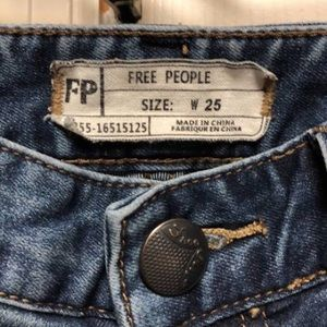 Free People Jeans - free People busted knee jeans